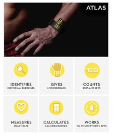 Atlas: The First Fitness Tracker that Actually Tracks Your Workout | Indiegogo