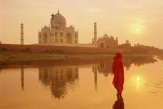 All About the Taj Mahal: Tours, Festivals, and Travel Tips: Taj Mahal at sunrise.