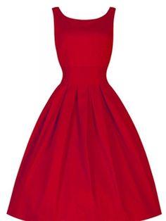 ffd35217c0 Ericdress plisada llano del vestido ocasional Plisado