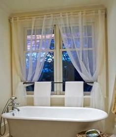 Lovely Bath Window Curtains | Searching For The Best Bathroom Window Curtains?  Well, You Are