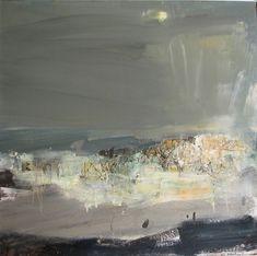 Contemporary Landscape, Abstract Landscape, Abstract Art, Seascape Paintings, Landscape Paintings, Claude Monet, Art Moderne, Vincent Van Gogh, Gouache