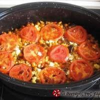Food Crafts, Greek Recipes, Cauliflower, Food And Drink, Vegetarian, Tasty, Lunch, Meat, Vegetables