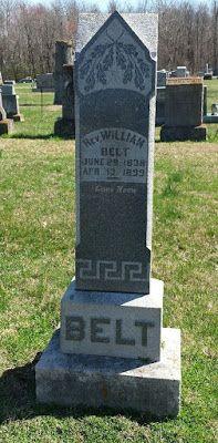 Western Kentucky Genealogy Blog: Tombstone Tuesday - Rev. William Belt #genealogy