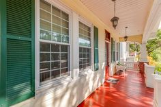 Sit on this dreamy porch and feel the ocean breeze <3 Contact me at fmoody@brockwayrealty.com for more information #galveston #galvestonrealestate #realestate #texasbeachhouses #texasbeaches #galvestonbeachhouses #rentalproperty #vacationproperty