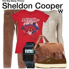 Inspired by Jim Parsons as Sheldon Cooper on The Big Bang Theory.