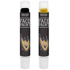 Anaheim Ducks Face Paint