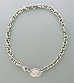Return to Tiffany & Co Sterling Tag Necklace. Available @ hamptonauction.com for the March 16, 2014 auction!