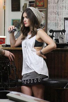 lucy hale! I'm in love with this girls fashion sense she always wears the nicest classiest outfits