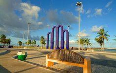 Portal da orla da praia de Atalaia | Aracaju, Sergipe