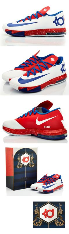 Nike iD Paris KD VI: exclusive to Nike Les Halles Clothing, Shoes & Jewelry - Women - nike women's shoes - http://amzn.to/2kkN5IR