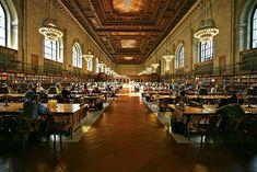 La bibliothèque publique de New-York, Etats-Unis © Creative commons