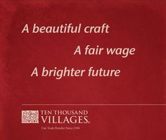 Unique Gift Ideas from Ten Thousand Villages Canada #Holidaygiftideas