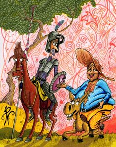 Maybe the greatest madness is to see life as i this…Dom Quixote