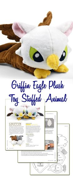 Griffin Eagle Plush Toy Stuffed Animal (affiliate link) More