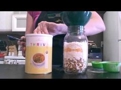 5 Days of Jar Meals Day 2: Kicked Up Mac n Cheese.  Meals In Jar Recipes. Create Your Own Home Food Store. Not Just for Preppers. Saves Time and Money. Wonderful Recipes with portion Calculator on Website. amazingthrivefoods.thrivelife.com