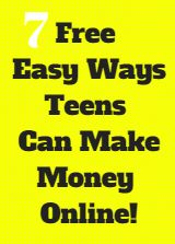 Copy Paste Earn Money - 7 Best Easy Ways For Teens To Make Money Online For Free You're copy pasting anyway.Get paid for it. Making Money Teens, Make Easy Money, Make Money From Home, Way To Make Money, Ways To Earn Money, Earn Money Online, Online Jobs, Jobs For Teens, Diy For Teens