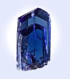 * Tanzanite from Tanzania * - I remember when you brought some back to me from one of your trips there-it's beautiful.