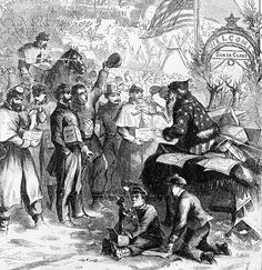 Santa Claus: In 1863, famed American cartoonist Thomas Nast provided a sketch of this 'Santa Claus' passing out toys among American troops t...