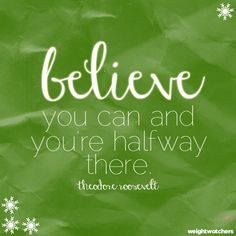 Believe you can! #WWLoves
