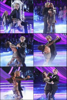 Charlie White and Sharna Burgess preform the Tango on week 2 of DWTS
