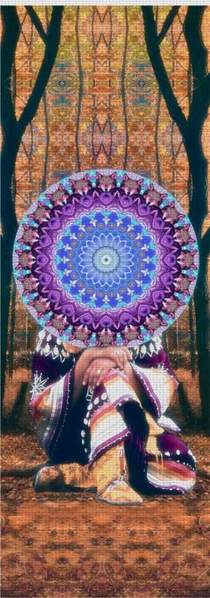 Larry Carlson Onawa Native Yoga Mat