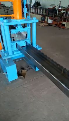 tray forming machine Metal forming machine for producing cable tray, cable channel metal frameMetal forming machine for producing cable tray, cable channel metal frame Metal Working Tools, Metal Tools, Metal Work Bench, Home Forge, Metal Fabrication Tools, Roof Truss Design, Metal Shop Building, Velo Cargo, Cable Tray