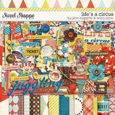 Life's A Circus by Erica Zane & Jenn Barrette. $8.99
