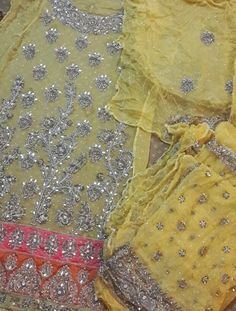 A lot of people have contacted me to ask about my mehndi and wedding outfits, so I thought I'd write a more detailed post about each one, in. Punjabi Salwar Suits, Patiala Salwar, Kurti, Indian Wedding Outfits, Indian Weddings, Mehndi Outfit, Boutique Suits, Indian Suits, Wedding Suits