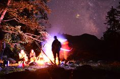 Camping underneath the stars at Nootka Sound. Park Lodge, Outdoor Education, Education Center, Vancouver Island, Centre, The Outsiders, Camping, Adventure, Explore