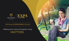 THE HEMISPHERE PRESENTS EXPA VILLA A lifetime opportunity to own an #expandable expa villas. #Expa_Villas are located in heart of #Greater_Noida, just opposite to #metro_station. Each unit is 143 sq.yd. in size.