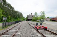 Quad Railbike (seats 4) - Lake Clear to Saranac Lake - Rail Explorers Reservations
