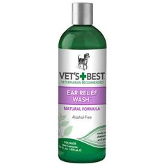 Dog Ear Relief Wash 16oz