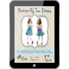 Butterfly Tea Dress PDF Pattern