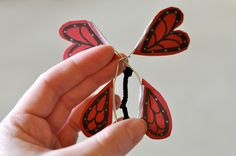 Darkroom and Dearly: {diy: wind up butterflies}