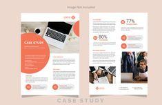 Case Study Template Design on Behance Page Layout, Layout Design, Print Design, Graphic Design, Ux Design, Layouts, Design Ideas, Case Study Template, Layout Template