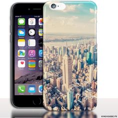 Coque iPhone 6 PLUS Manhattan. #Coque #AppleiPhone6s #Plus #Manhattan #NYC