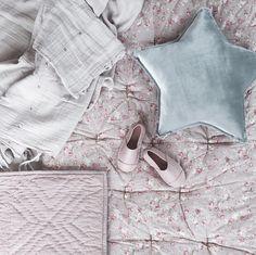 Soft velvet silver grey star pillow #numero74 #kidsdecor #kidsroom…