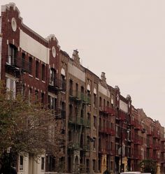 Wandering New York, Apartment houses in Flatbush, Brooklyn.