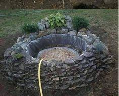 Daddy Cool!: Έχεις κήπο;Δες πως μπορείς να φτιάξεις μόνος σου πανεύκολα μια λιμνούλα! DIY