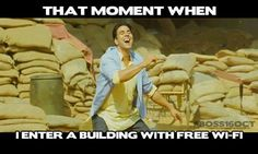 When you get chance to use free WI-FI... :)