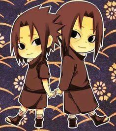 Chibi Sasuke and Itachi