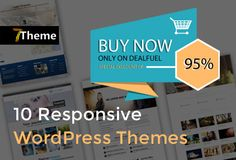 First impressions last. Always. Which is why we have hand-picked these 10 Modern, Multi-Purpose, #Responsive #WordPress #Themes for you. Grab these 10 multi-purpose WordPress themes for just $29 (DealClub $21.75)
