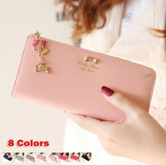 Price: US $4.89Cheap handbag - clutch bag, Buy Quality handbag dropship6.98 directly from China handbag jewelry Suppliers: 2015 New Fashion Women Wallet Matte Leather 7 Colors Clutch Wallets Ladies Long Clutches Two Fold Coin Purse Card & ID H