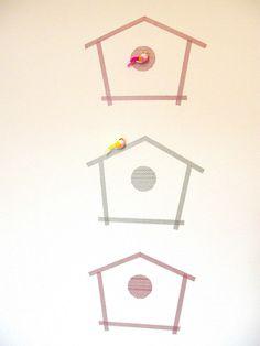 Gabulle in Wonderland: en masking tape Breeding grounds in masking tape http://gabulleinwonderland.blogspot.fr/