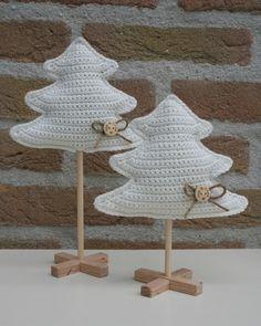 Stip & HAAK: Kerstboompjes