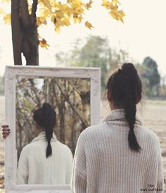 One day I looked at the mirror. There was a reflection of my childood dremas in it.