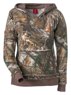 SHE® Outdoor Vintage Camo Hoodie for Ladies | Bass Pro Shops