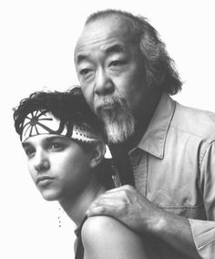 the karate kid original version  sequels (Sorry Jackie Chan but there will ever only be one Mr Myagi)