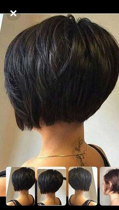 Best Short Stacked Bob Mane Attraction Hair Styles Short Hair