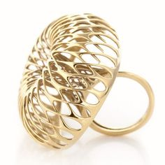 Advanced manufacturing could transform the jewellery industry, says designer Lionel T Dean, who has designed a 3D-printed 18 carat gold jewellery collection